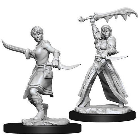 DUNGEONS & DRAGONS NOLZUR'S MARVELOUS UNPAINTED MINIATURES WAVE 10: FEMALE HUMAN ROGUE