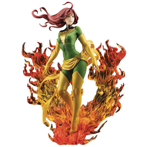 NYCC 2020 MARVEL PHOENIX REBIRTH LIMITED EDITION BISHOUJO STATUE