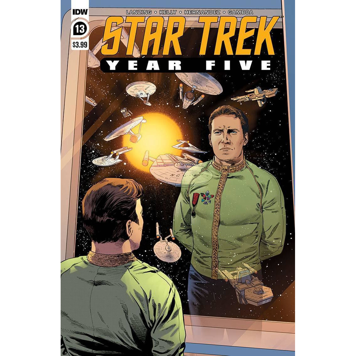 STAR TREK YEAR FIVE #13 - THOMPSON COVER A