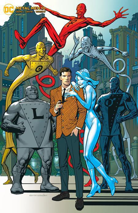 METAL MEN #10 COVER B KEVIN NOWLAN VARIANT