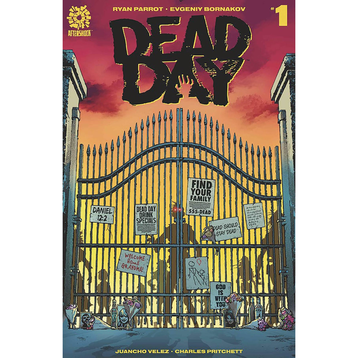 DEAD DAY #1 COVER A CLARKE