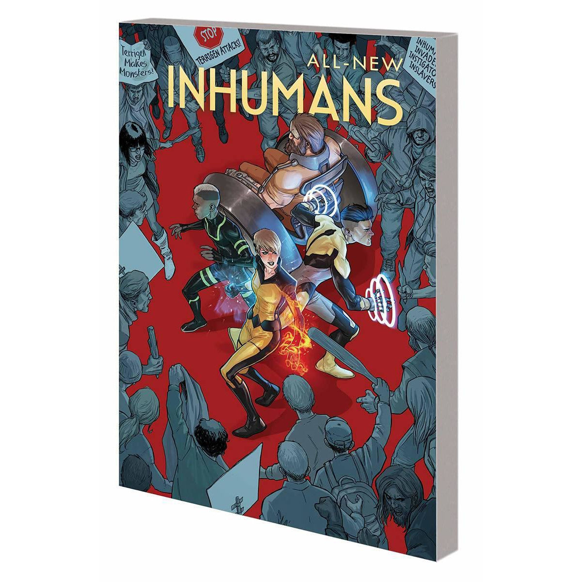 ALL NEW INHUMANS VOL 1 GLOBAL OUTREACH