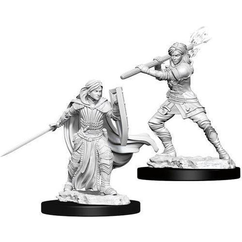 DUNGEONS & DRAGONS NOLZUR'S MARVELOUS UNPAINTED MINIATURES WAVE 10: FEMALE HUMAN PALADIN