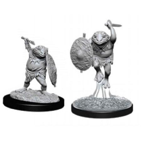 DUNGEONS & DRAGONS NOLZUR'S MARVELOUS UNPAINTED MINIATURES WAVE 12: BULLYWUG