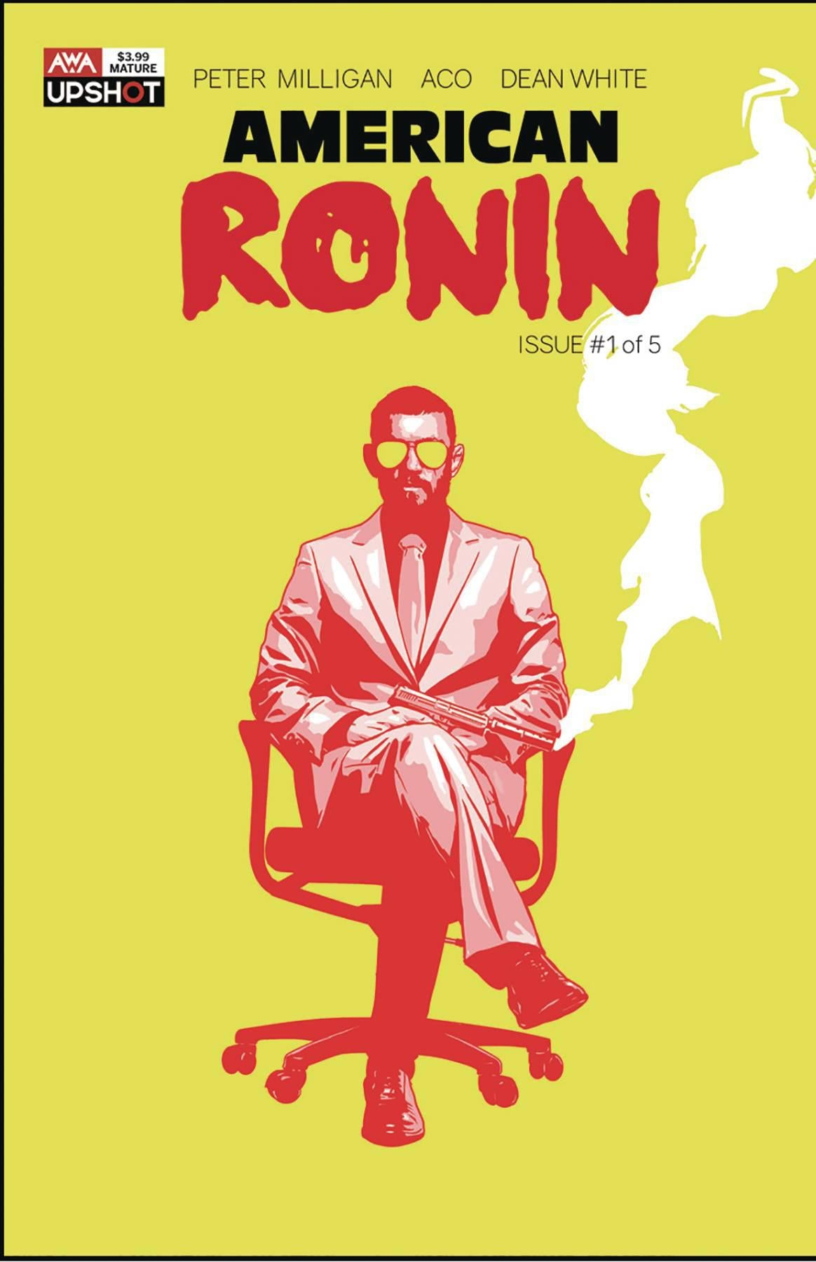 AMERICAN RONIN #1 (OF 5) COVER A ACO