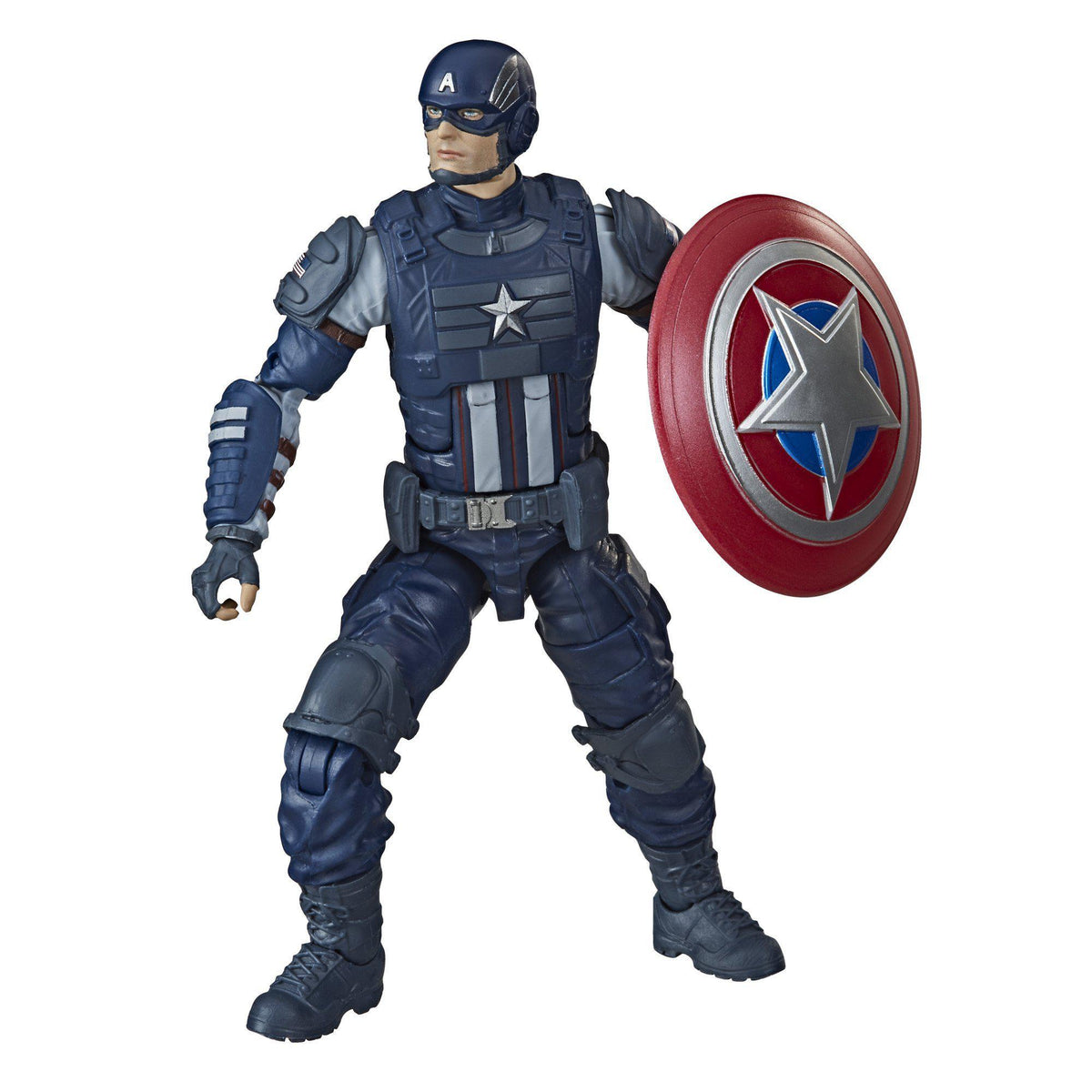 AVENGERS LEGENDS GAMERVERSE 6-INCH ACTION FIGURE - CAPTAIN AMERICA