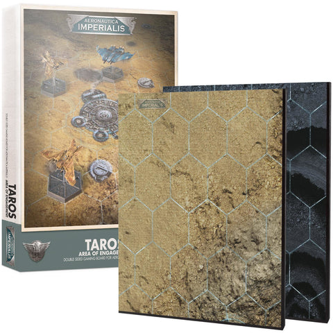 AERONAUTICA IMPERIALIS - TAROS AREA OF ENGAGEMENT BOARD - WARHAMMER 40K