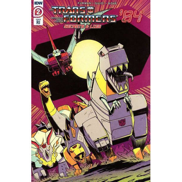 TRANSFORMERS 84 SECRETS & LIES #2 (OF 4) - 1:10 ROCHE COVER