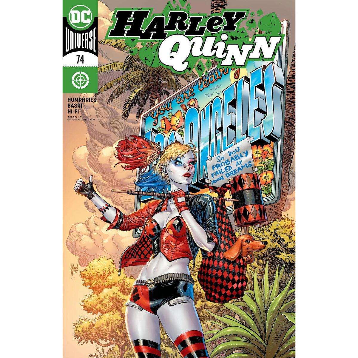HARLEY QUINN #74 - MARCH MAIN COVER A