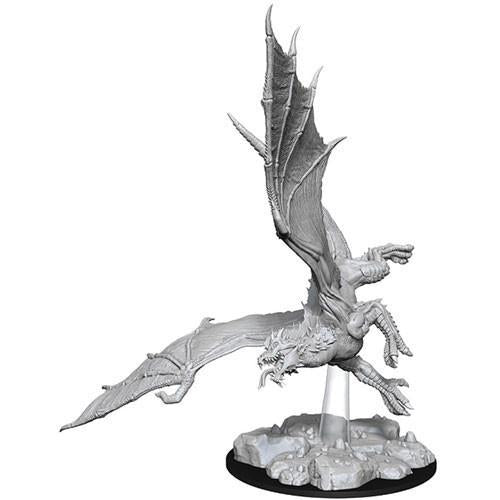 DUNGEONS & DRAGONS: NOLZUR'S MARVELOUS UNPAINTED MINIATURES - YOUNG GREEN DRAGON