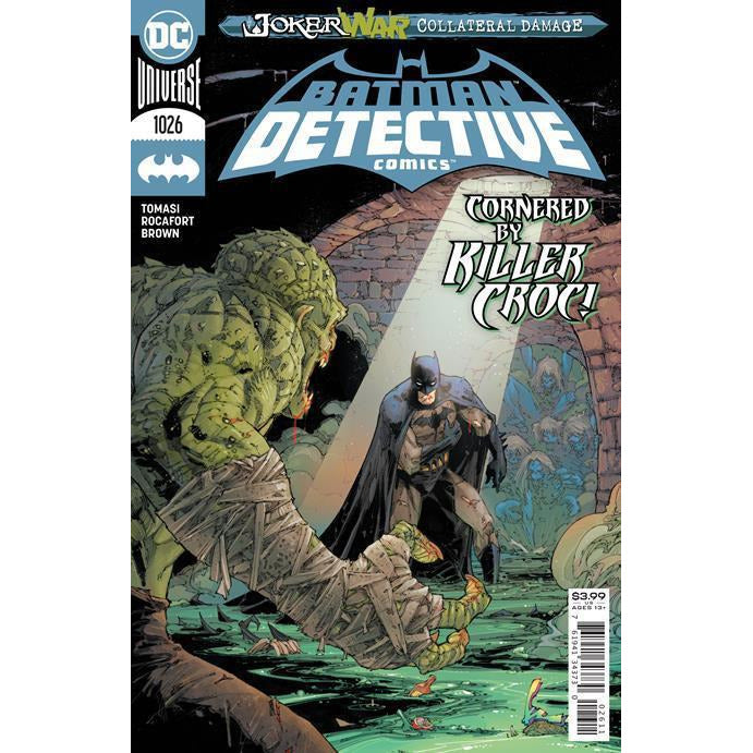 DETECTIVE COMICS #1026 - HENNESSY COVER A