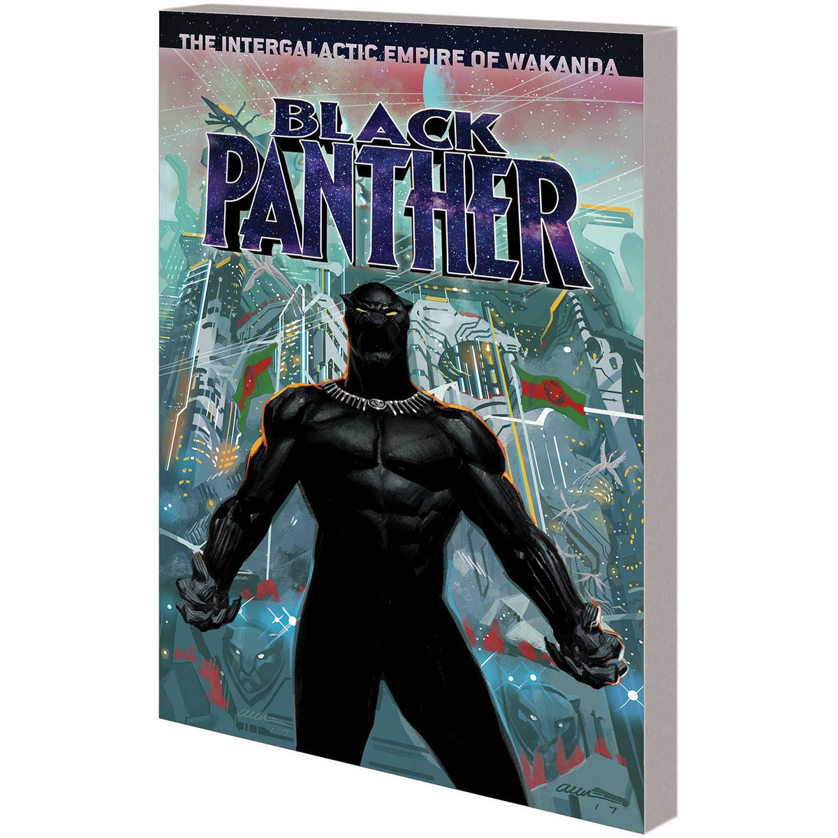 BLACK PANTHER: THE INTERGALACTIC EMPIRE WAKANDA PART 01