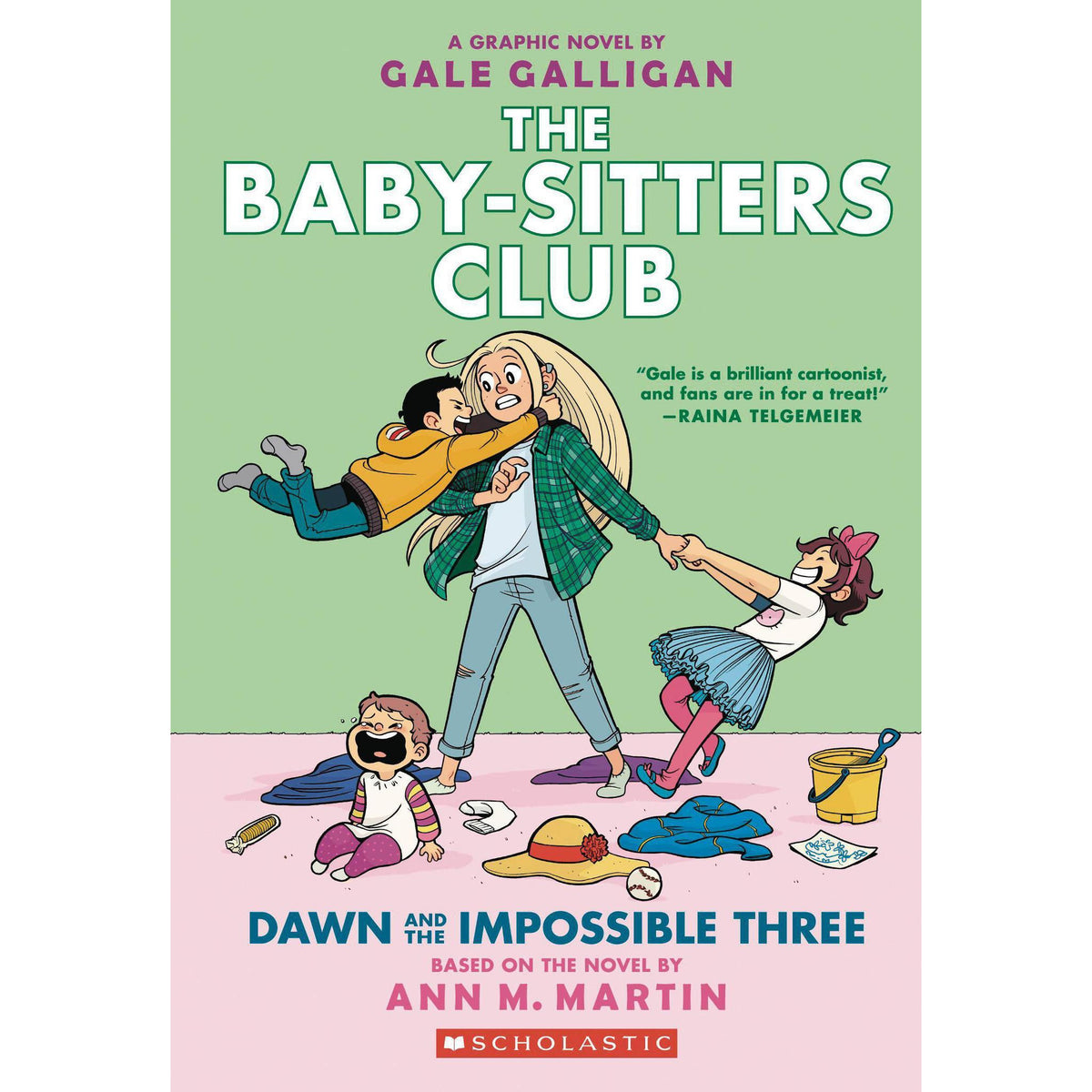 BABY SITTERS CLUB VOLUME 05: DAWN AND THE IMPOSSIBLE THREE