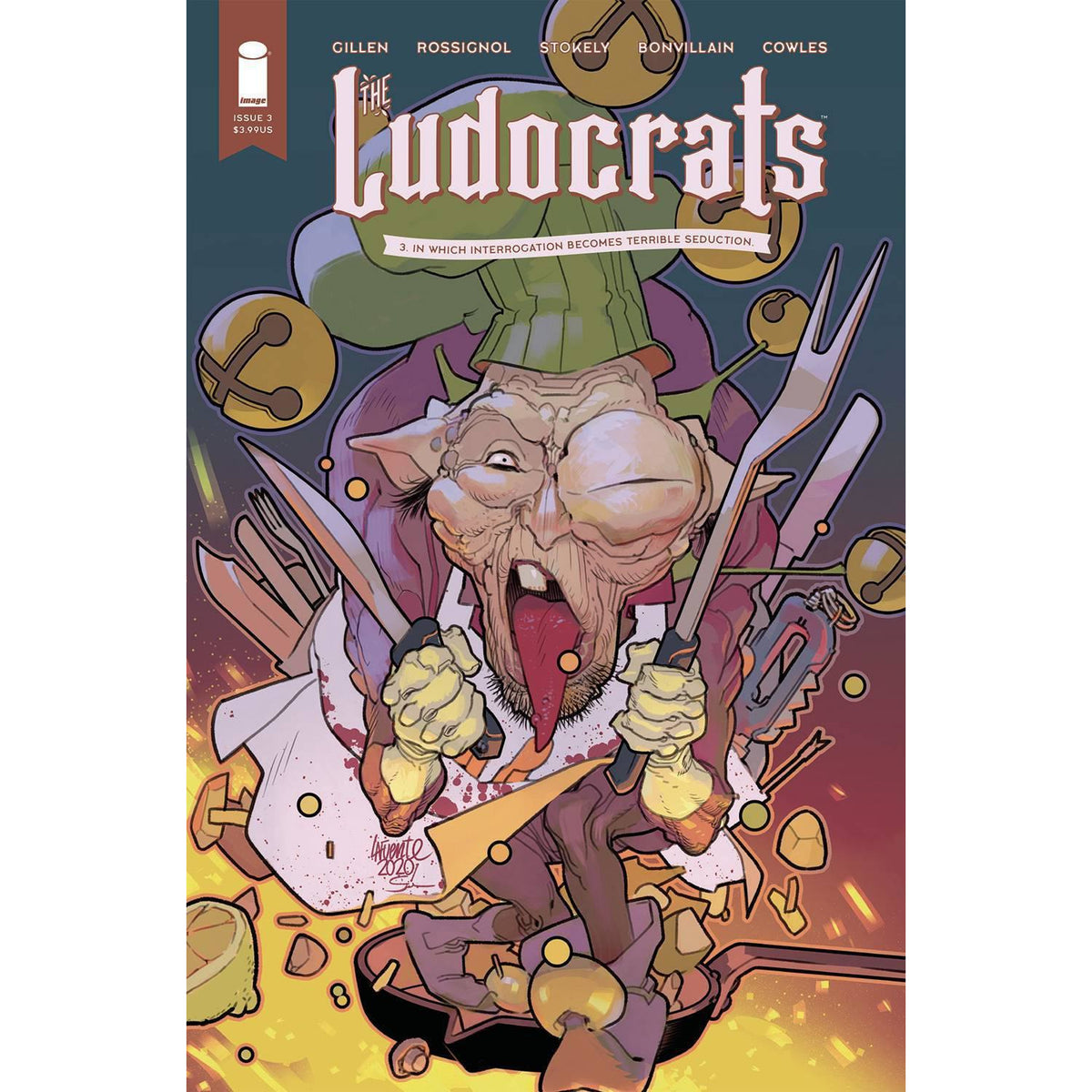 LUDOCRATS #3 (OF 5) COVER B LAFUENTE