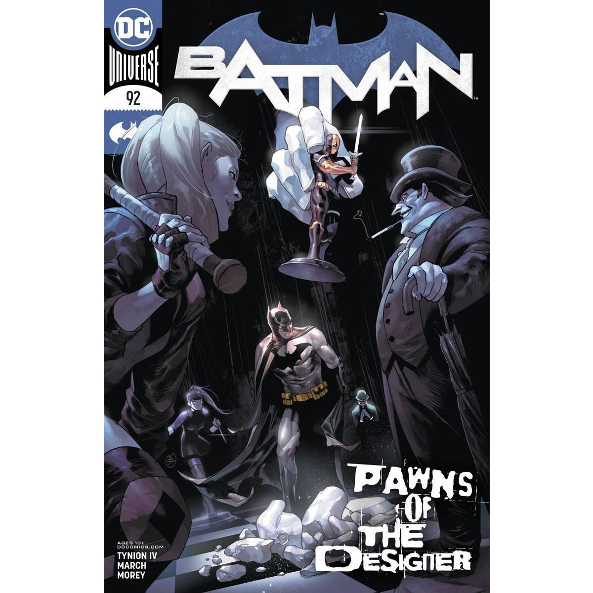 BATMAN #92 - PICK YOUR COVER - JIMENEZ 1:25 PUTRI ARTGERM