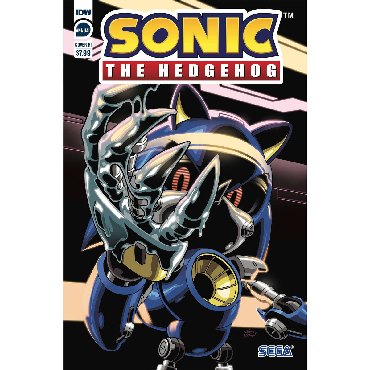 SONIC THE HEDGEHOG ANNUAL 2020 - 1:10 YARDLEY COVER C