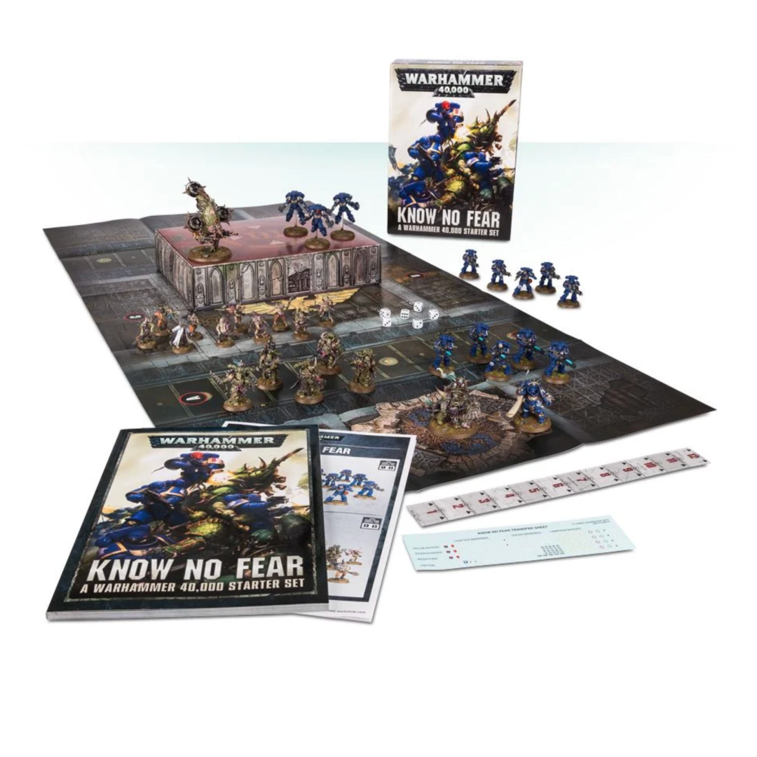 KNOW NO FEAR: A WARHAMMER 40K STARTER SET