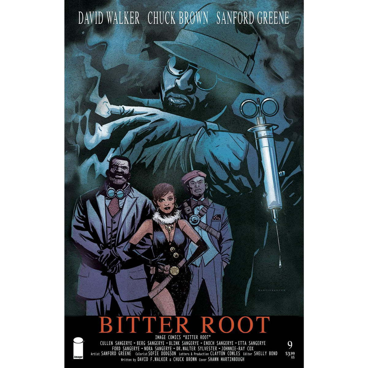BITTER ROOT #9 - MARTINBROUGH COVER B