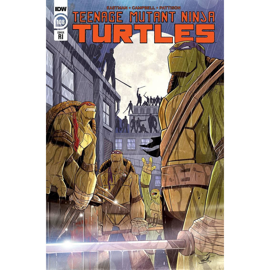 TMNT ONGOING #108 10 COPY INCV BROOKS