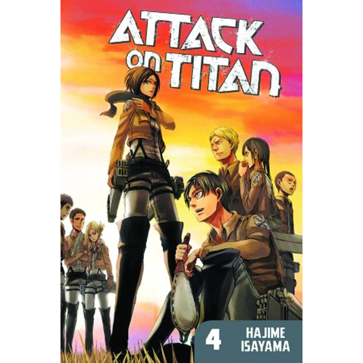 ATTACK ON TITAN VOLUME 04