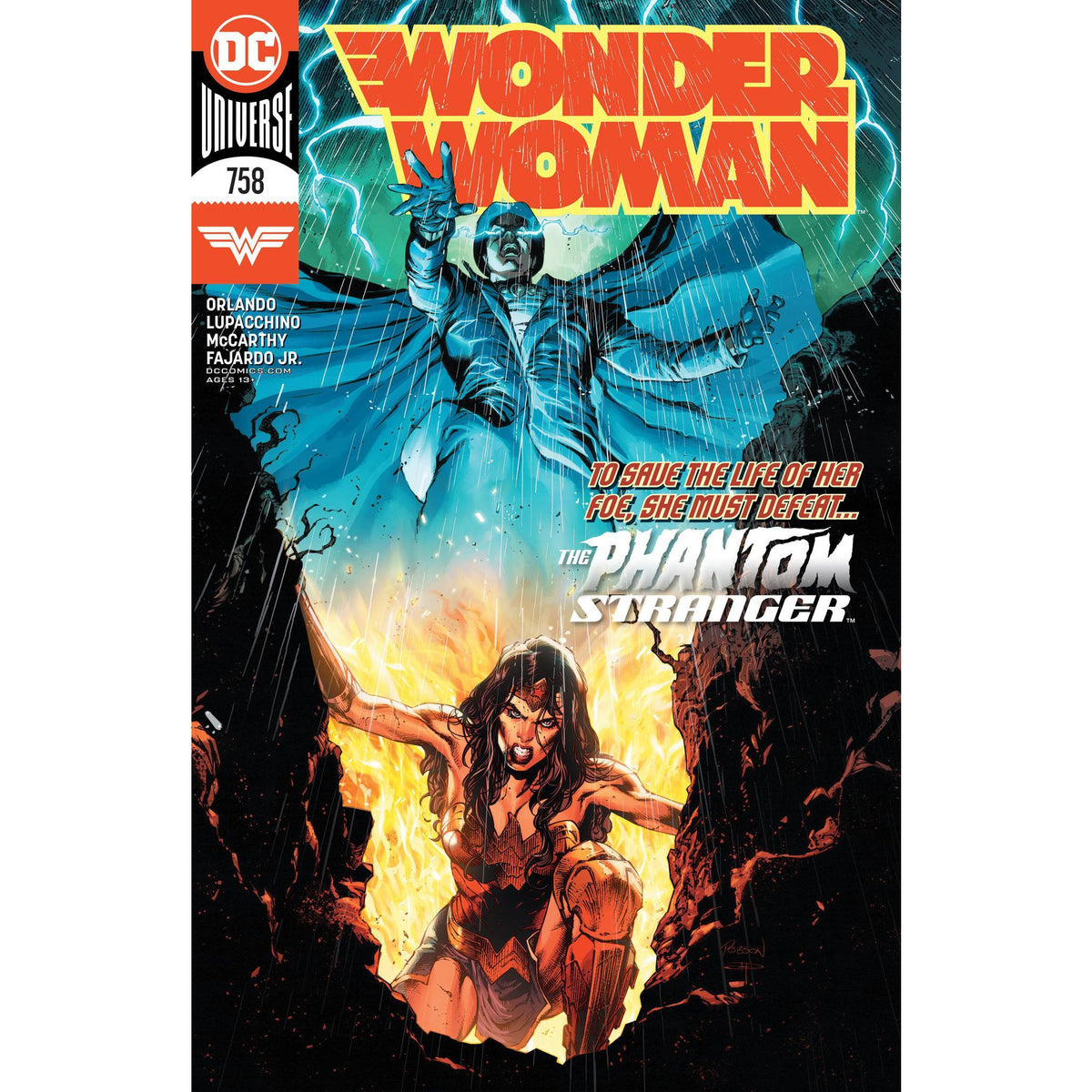 WONDER WOMAN #758 - ROCHA HENRIQUES MAIN COVER A