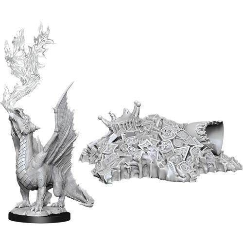 NOLZUR'S MARVELOUS MINIATURES: GOLD DRAGON WYRMLING