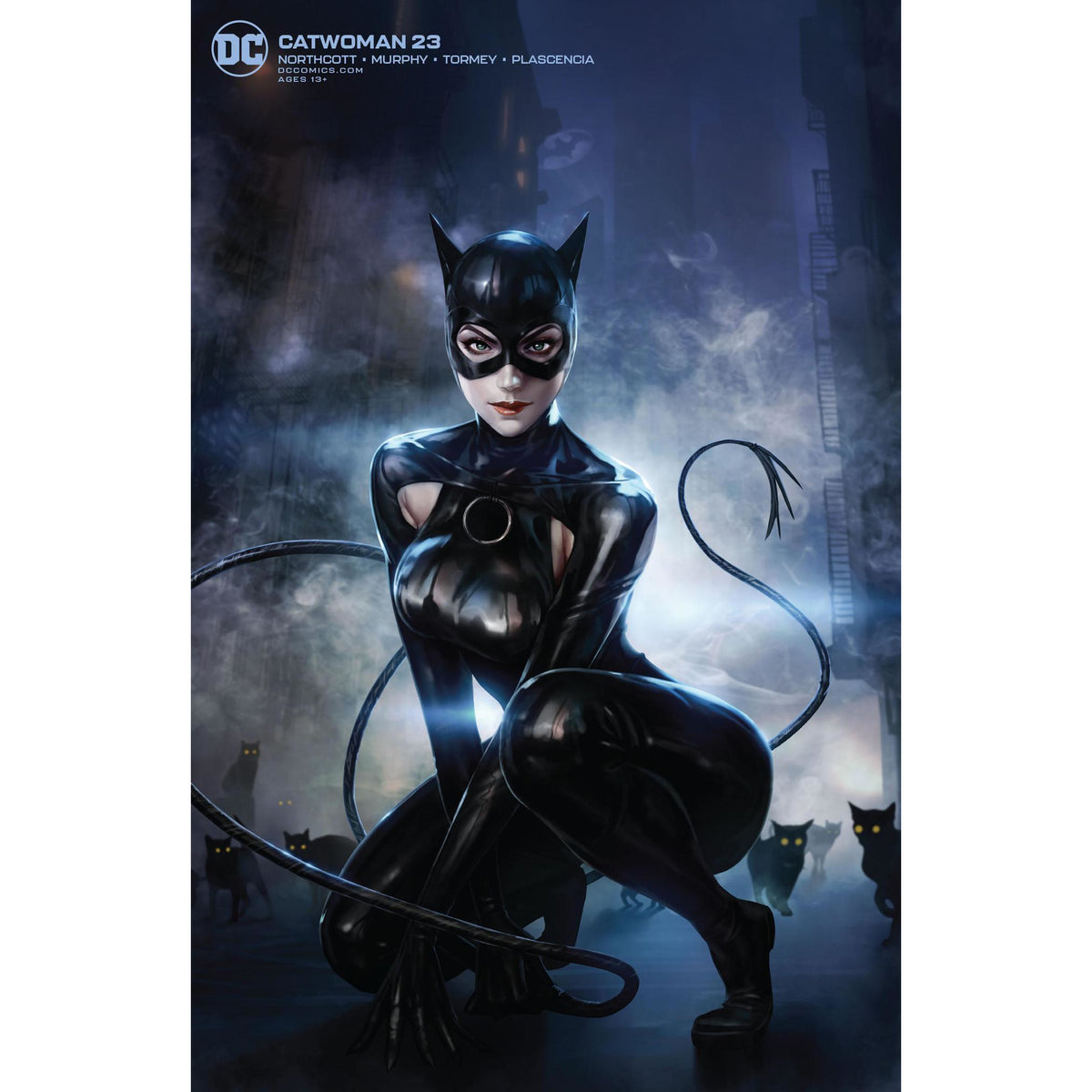 CATWOMAN #23 - WOO CHUL LEE VARIANT COVER B