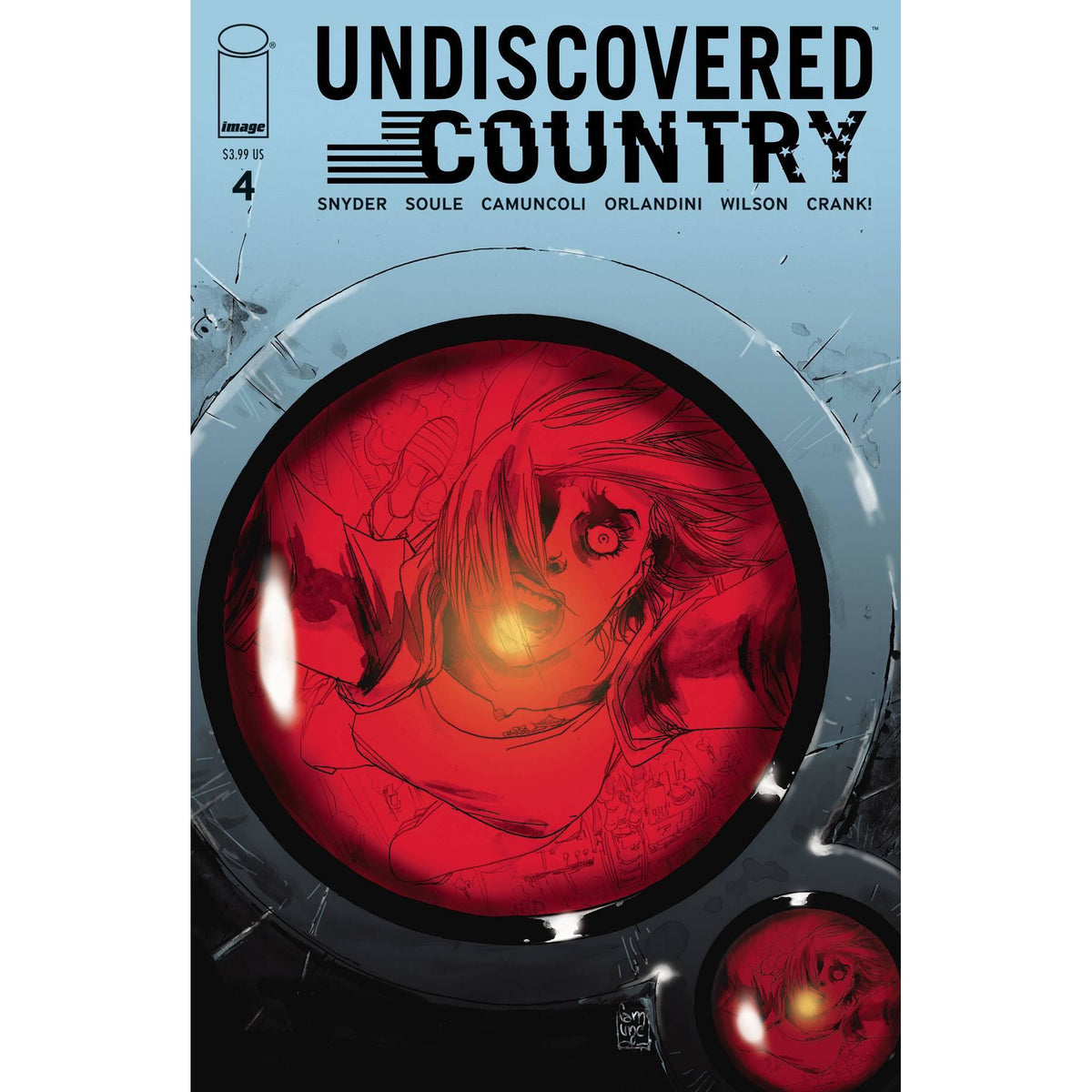 UNDISCOVERED COUNTRY #4 - CAMUNCOLI COVER