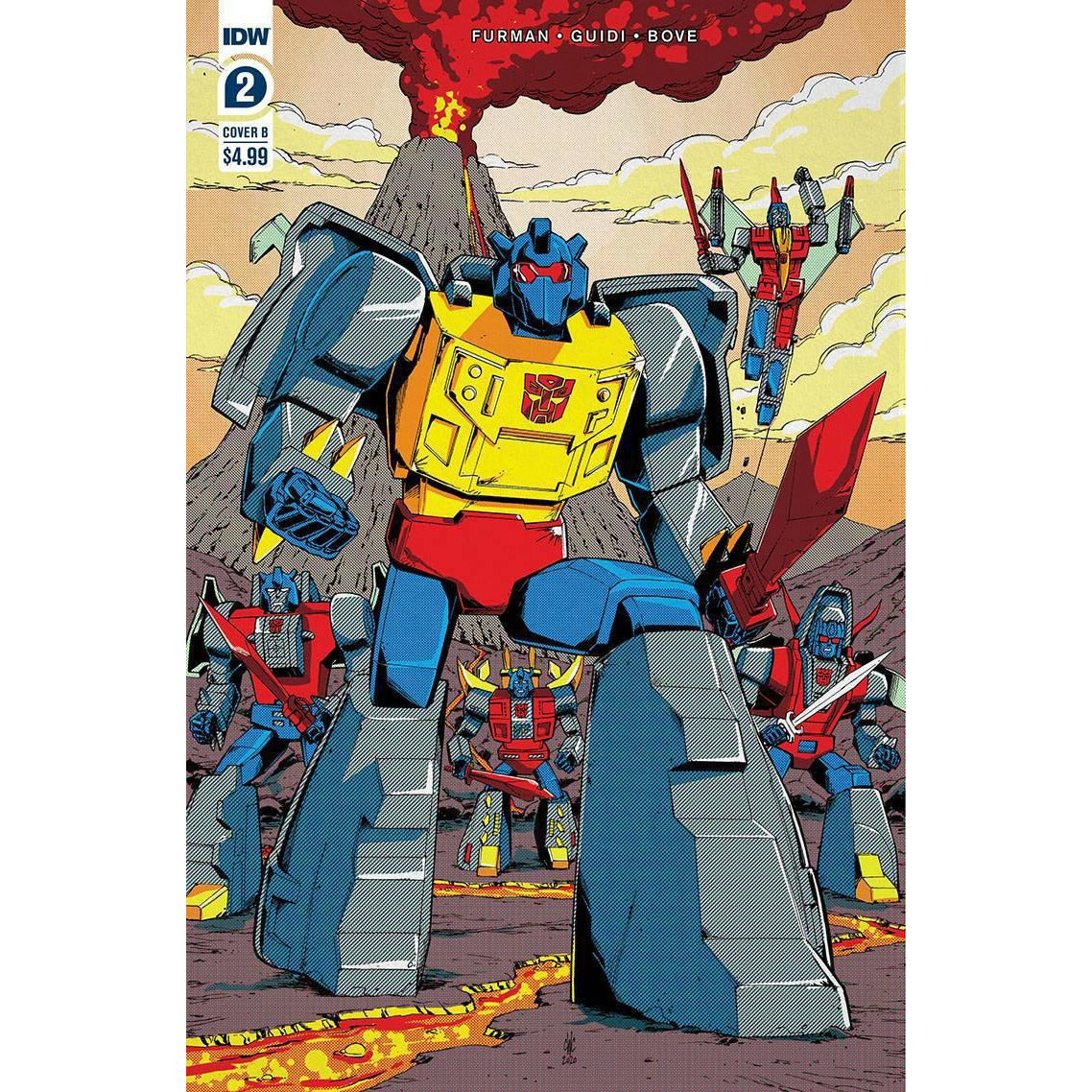 TRANSFORMERS 84 SECRETS & LIES #2 (OF 4) - COVER B COLLER