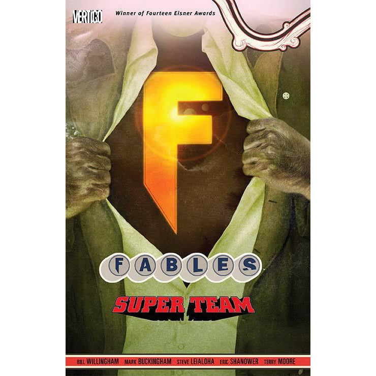 FABLES DELUXE EDITION VOLUME 12