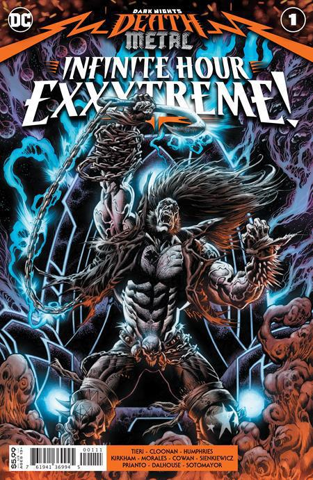 DARK NIGHTS DEATH METAL INFINITE HOURS EXXXTREME #1 (ONE SHOT) COVER A KYLE HOTZ