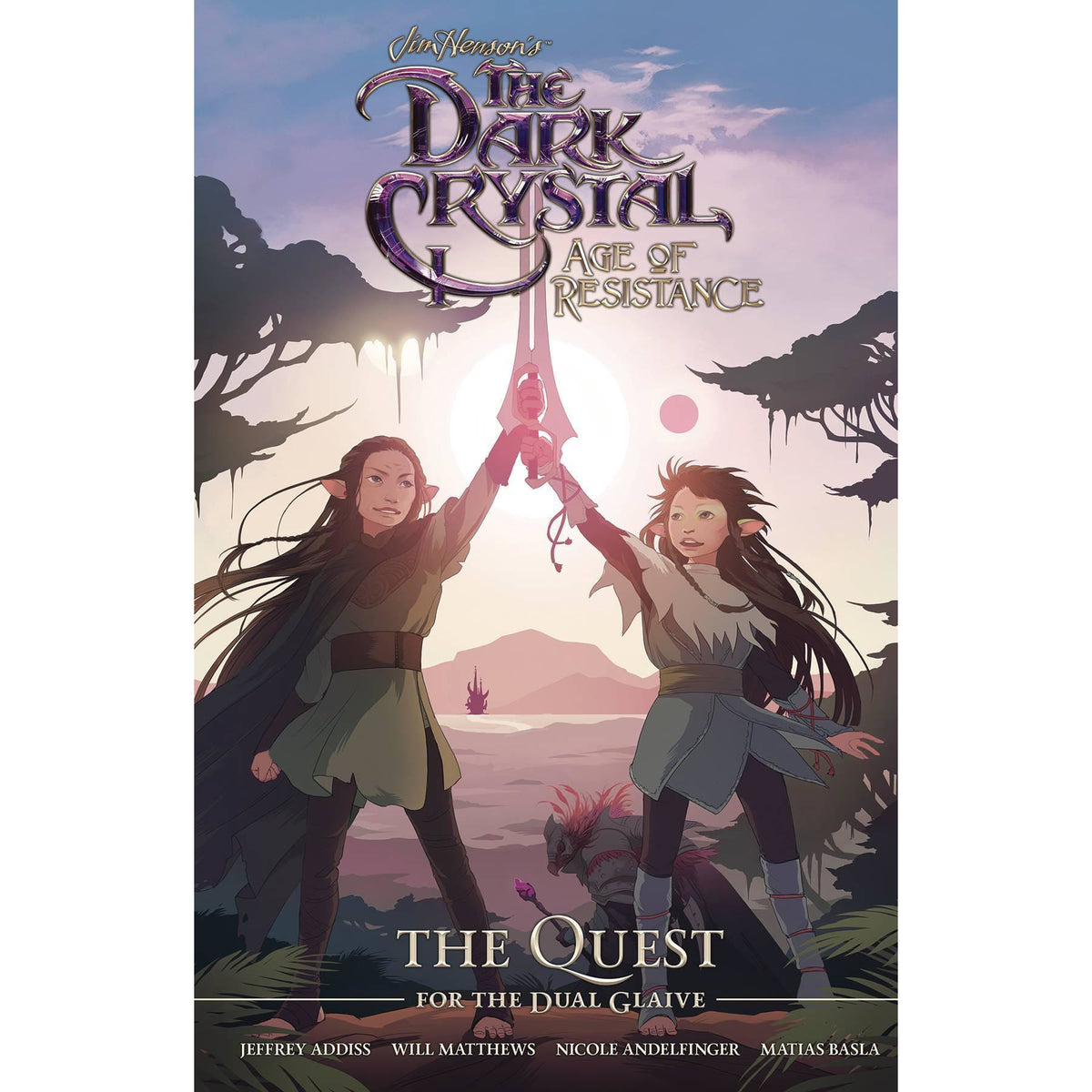 JIM HENSON DARK CRYSTAL RESISTANCE QUEST FOR DUAL GLAIVE