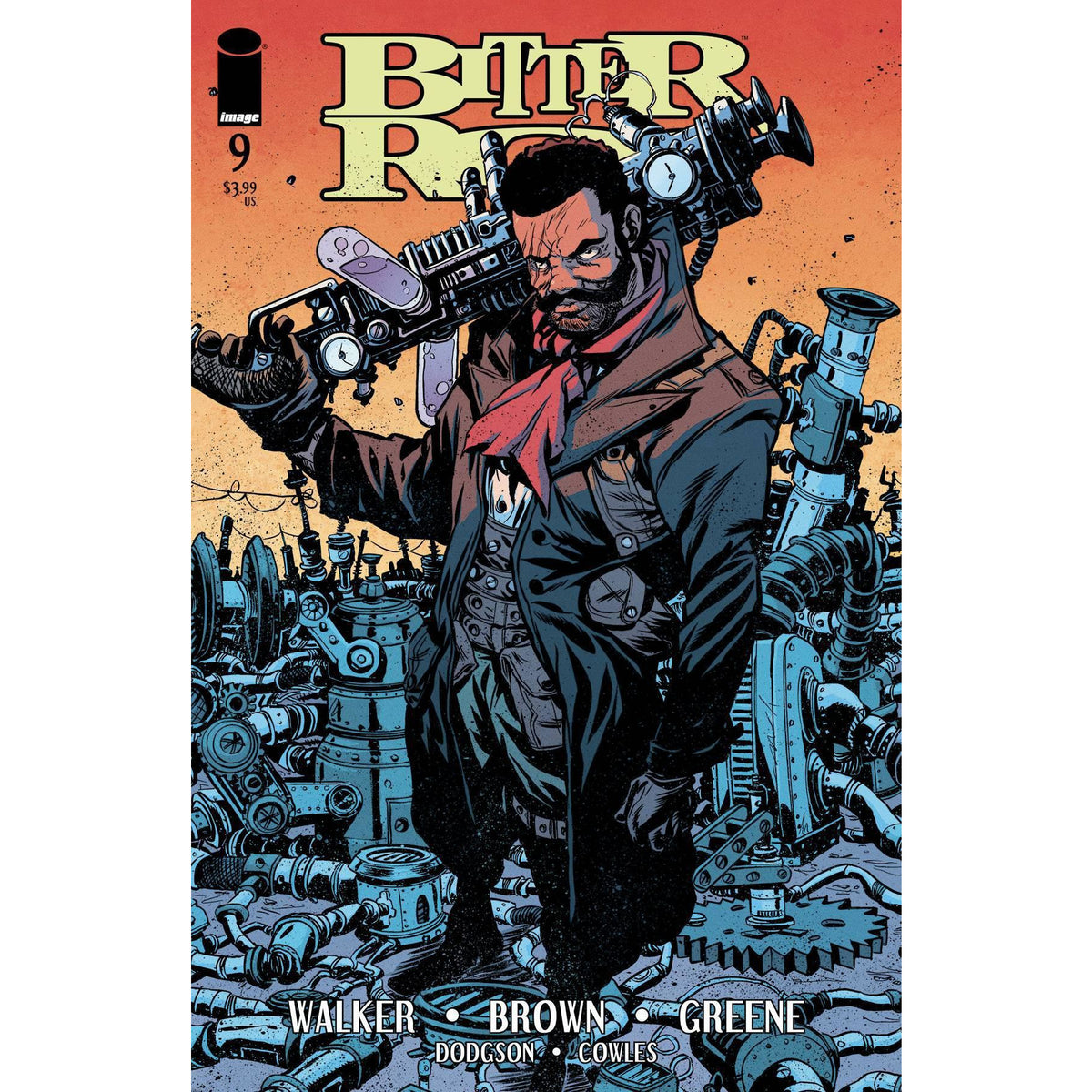 BITTER ROOT #9 - GREENE COVER A