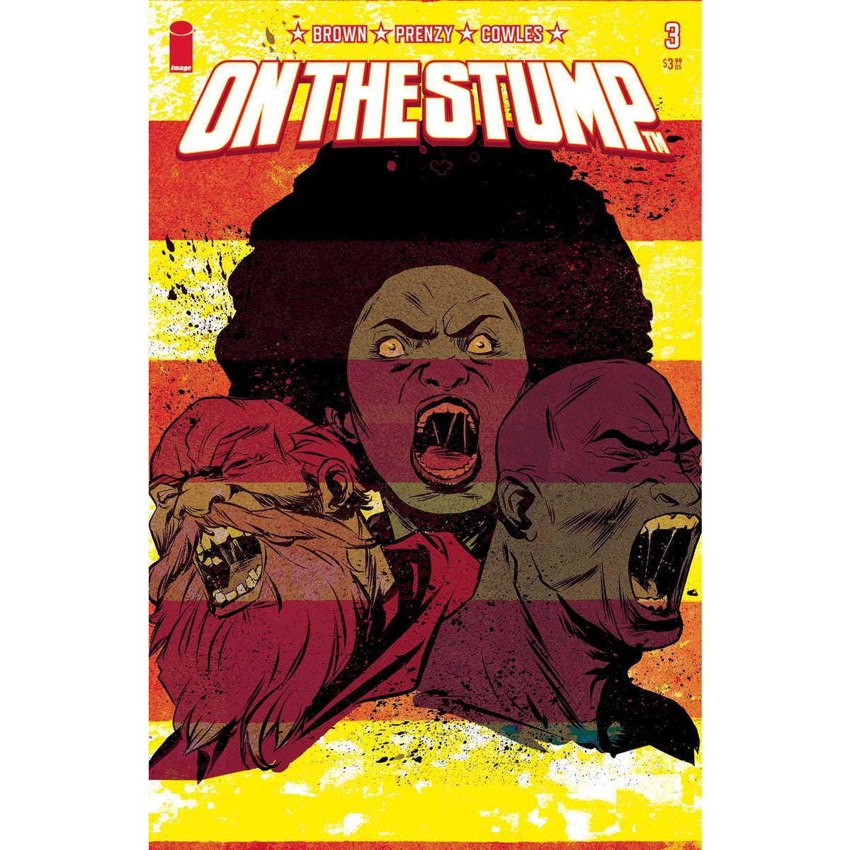ON THE STUMP #3 - GREENE COVER B - IMAGE COMICS