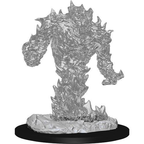 DUNGEONS & DRAGONS NOLZUR'S MARVELOUS UNPAINTED MINIATURES WAVE 10: FIRE ELEMENTAL