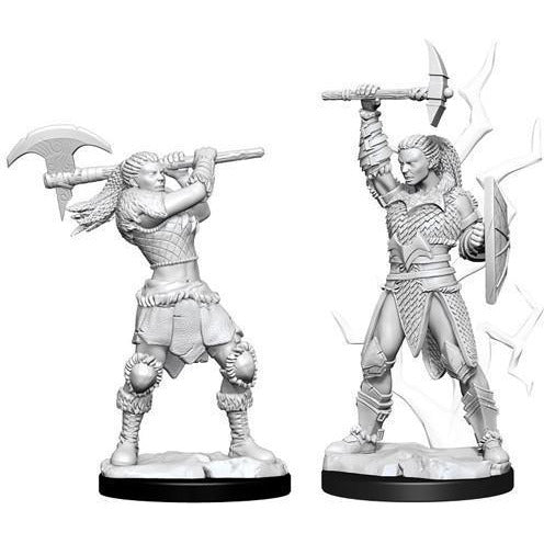 DUNGEONS & DRAGONS NOLZUR'S MARVELOUS UNPAINTED MINIATURES WAVE 10: FEMALE GOLIATH BARBARIAN