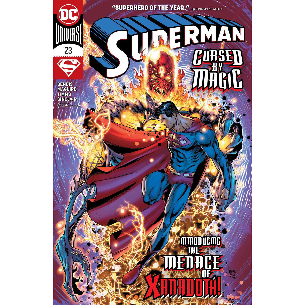 SUPERMAN #23 - TIMMS MAIN COVER A