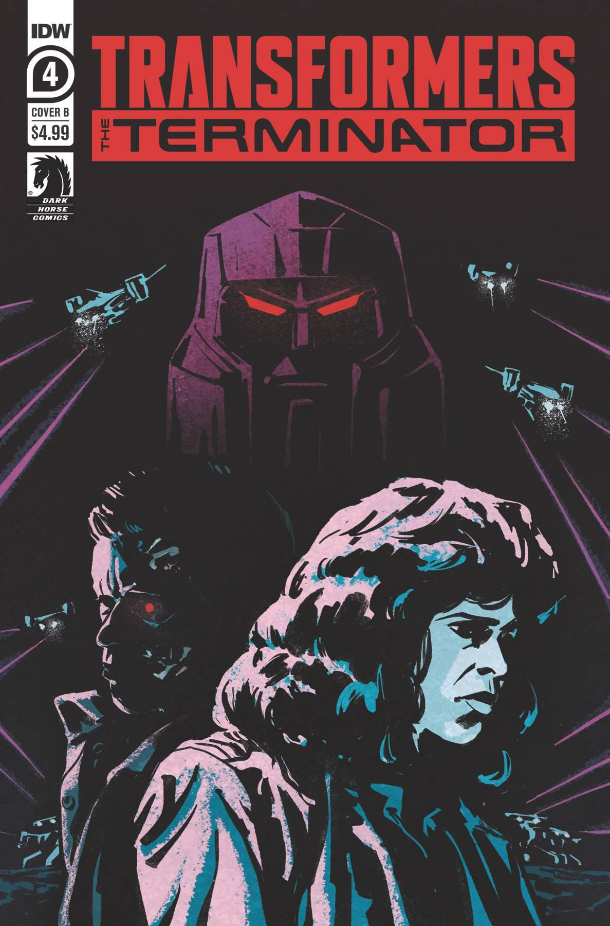 TRANSFORMERS VS TERMINATOR #4 (OF 4) - COVER A FULLERTON