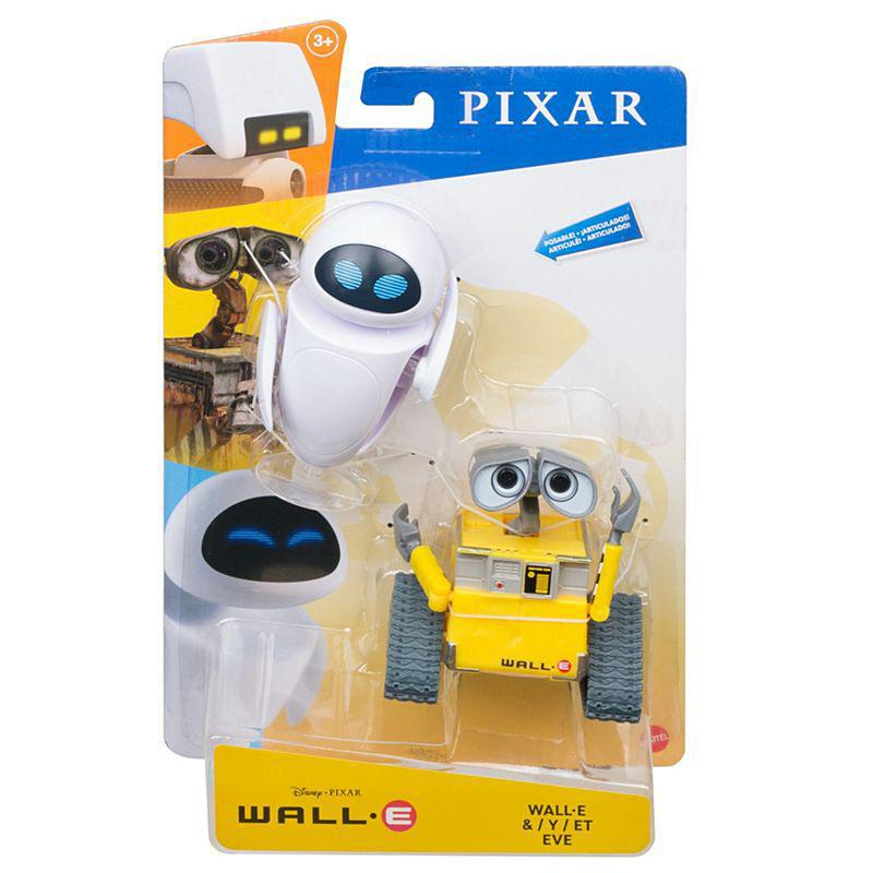 DISNEY PIXAR - WALL-E - ACTION FIGURE - WALL-E AND EVE