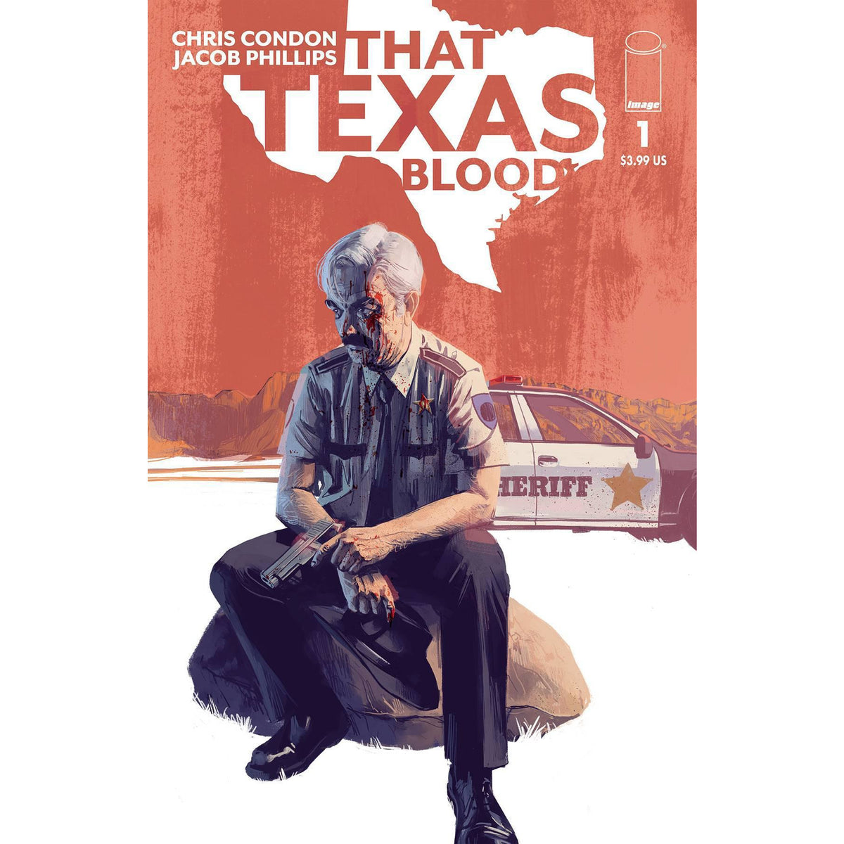 THAT TEXAS BLOOD #1 COVER A JACOB PHILLIPS (MR) - IMAGE COMICS