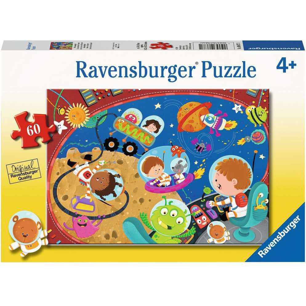 RECESS IN SPACE 60 PIECE PUZZLE