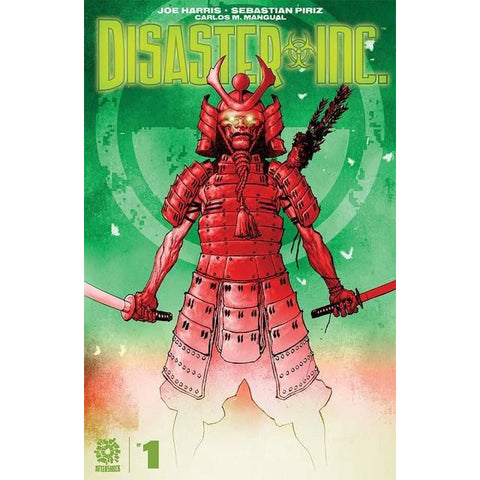 DISASTER INC #1 COVER A CLARKE