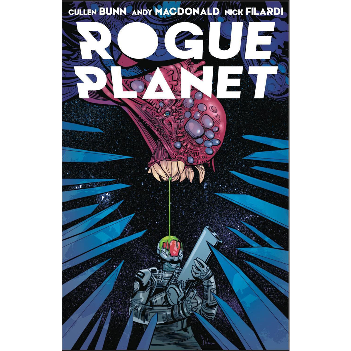 ROGUE PLANET #1 COVER B STRAHM