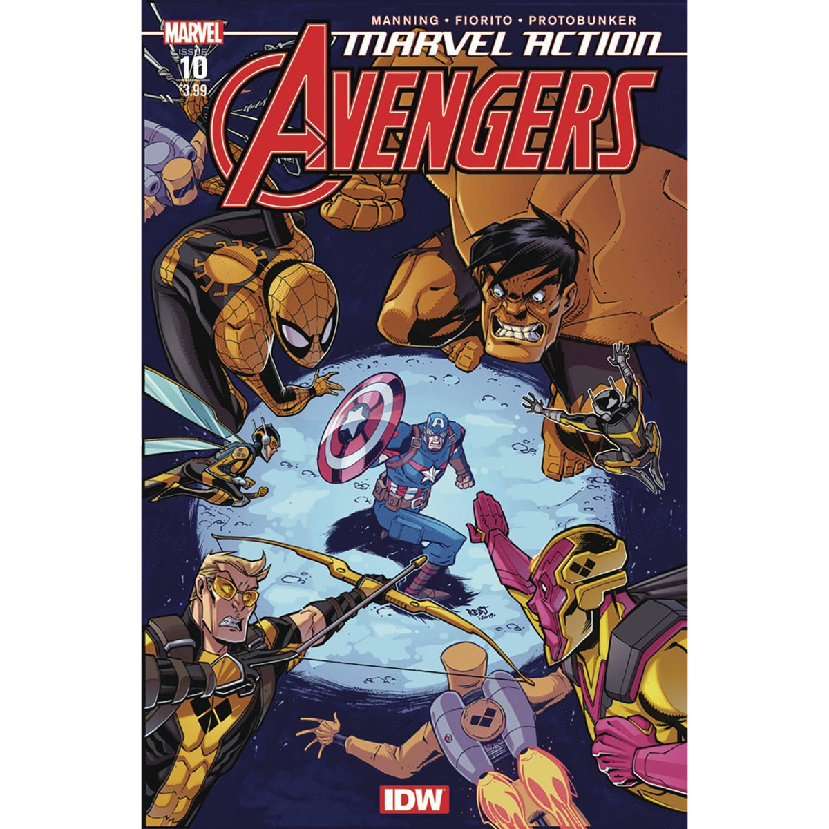 MARVEL ACTION AVENGERS #10 2ND PRINTING
