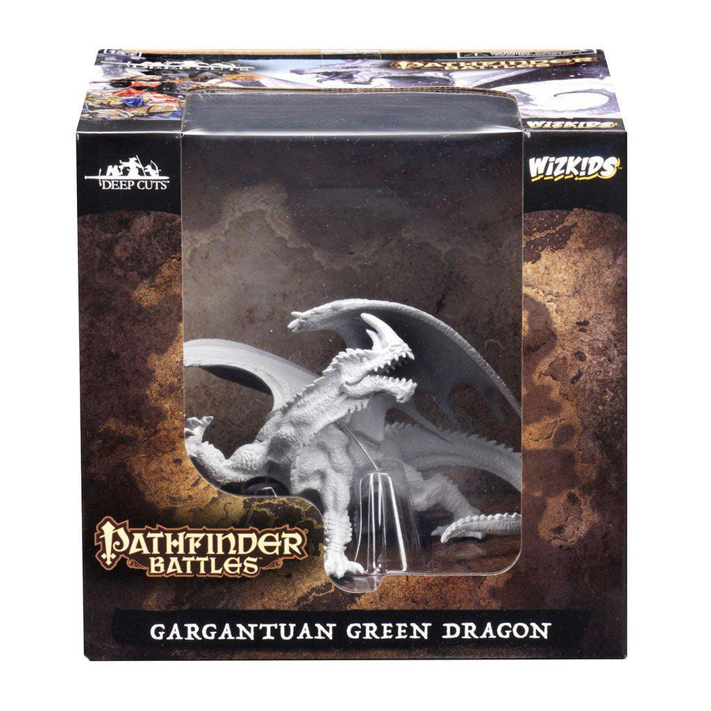 PATHFINDER BATTLES DEEP CUTS - GARGANTUAN GREEN DRAGON