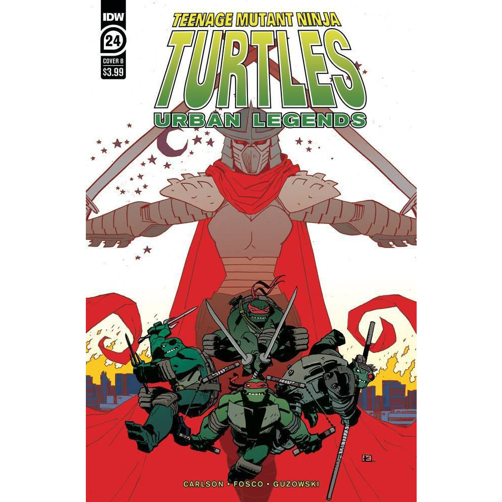 TEENAGE MUTANT NINJA TURTLES - TMNT - URBAN LEGENDS #24 - KUHN COVER B