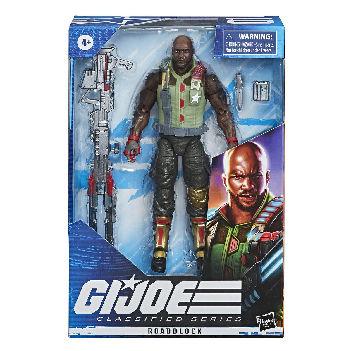 G.I. JOE CLASSIFIED SERIES - ROADBLOCK ACTION FIGURE
