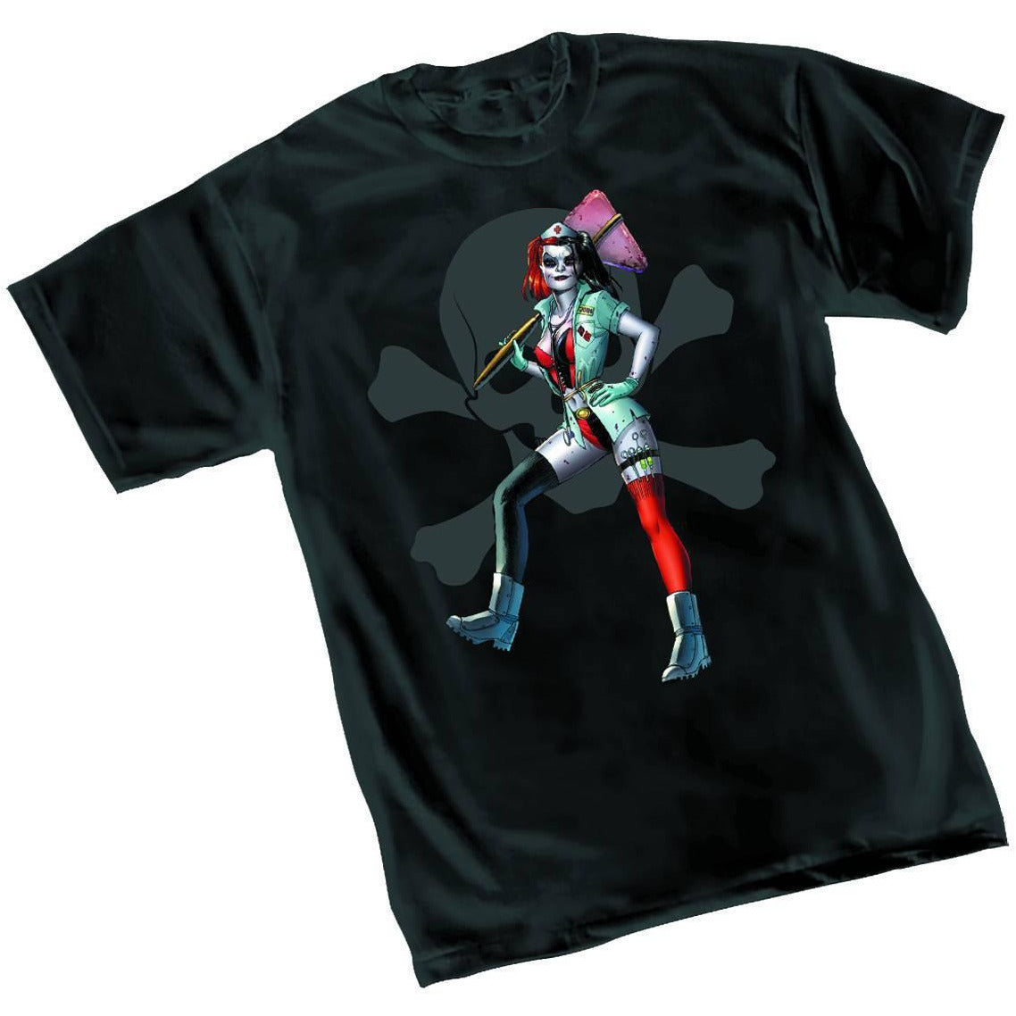 HARLEY QUINN: NURSE T-SHIRT LARGE