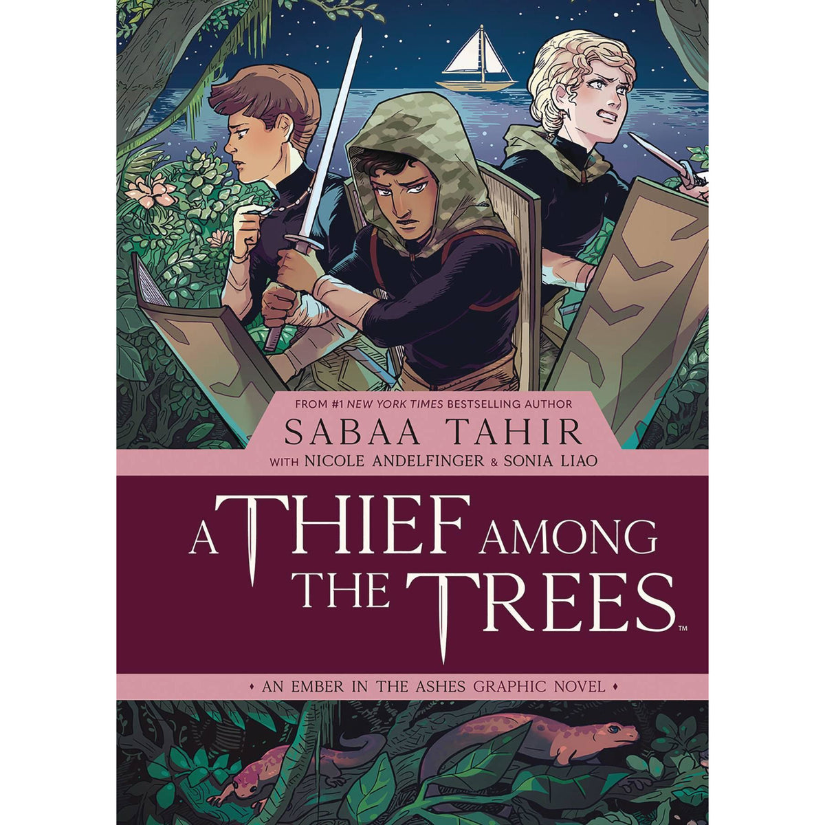 THIEF AMONG TREES EMBER ASHES ORIGINAL GRAPHIC NOVEL