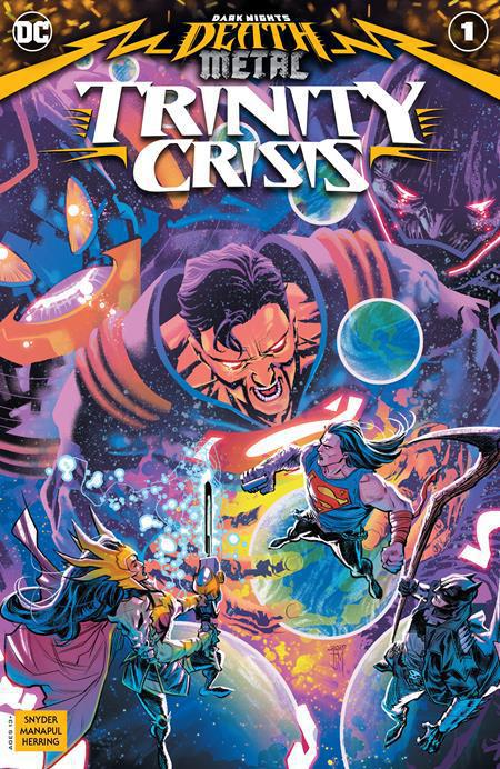 DARK NIGHTS DEATH METAL TRINITY CRISIS #1 (ONE SHOT) - FRANCIS MANAPUL COVER A